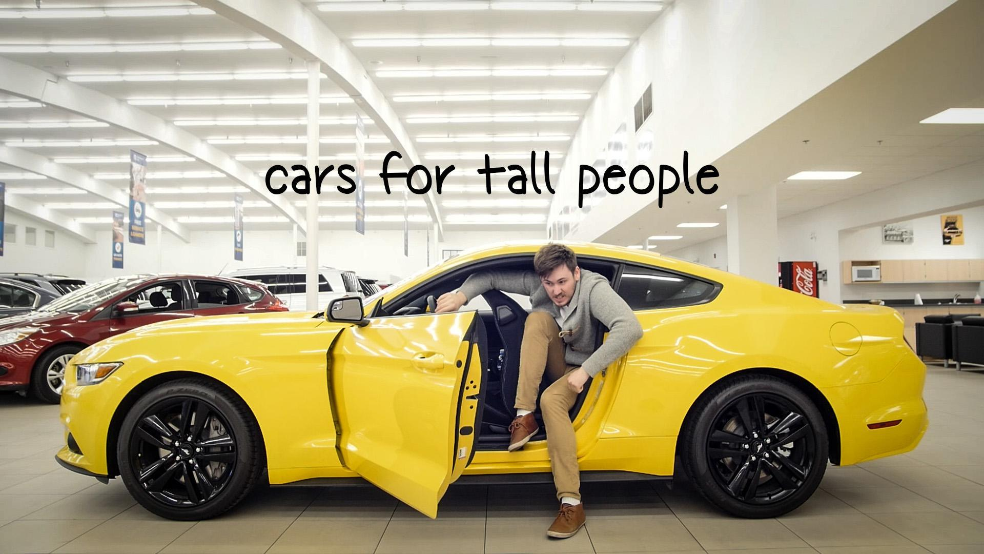 Car People: Cars For Tall People (VIDEO REVIEWS): What To Drive And