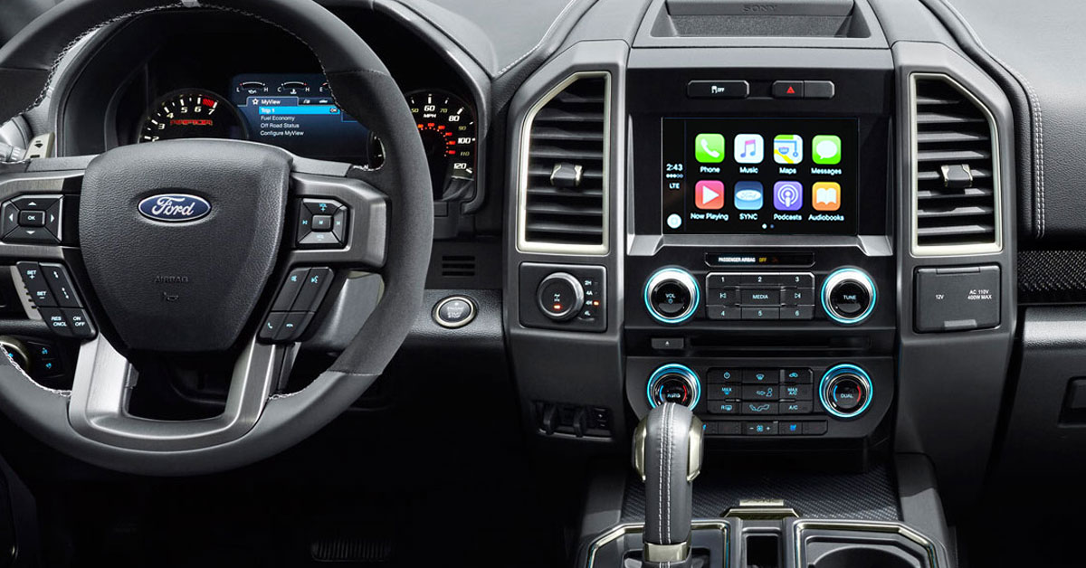 apple carplay 2017 fords will come with apple carplay and android auto. Black Bedroom Furniture Sets. Home Design Ideas