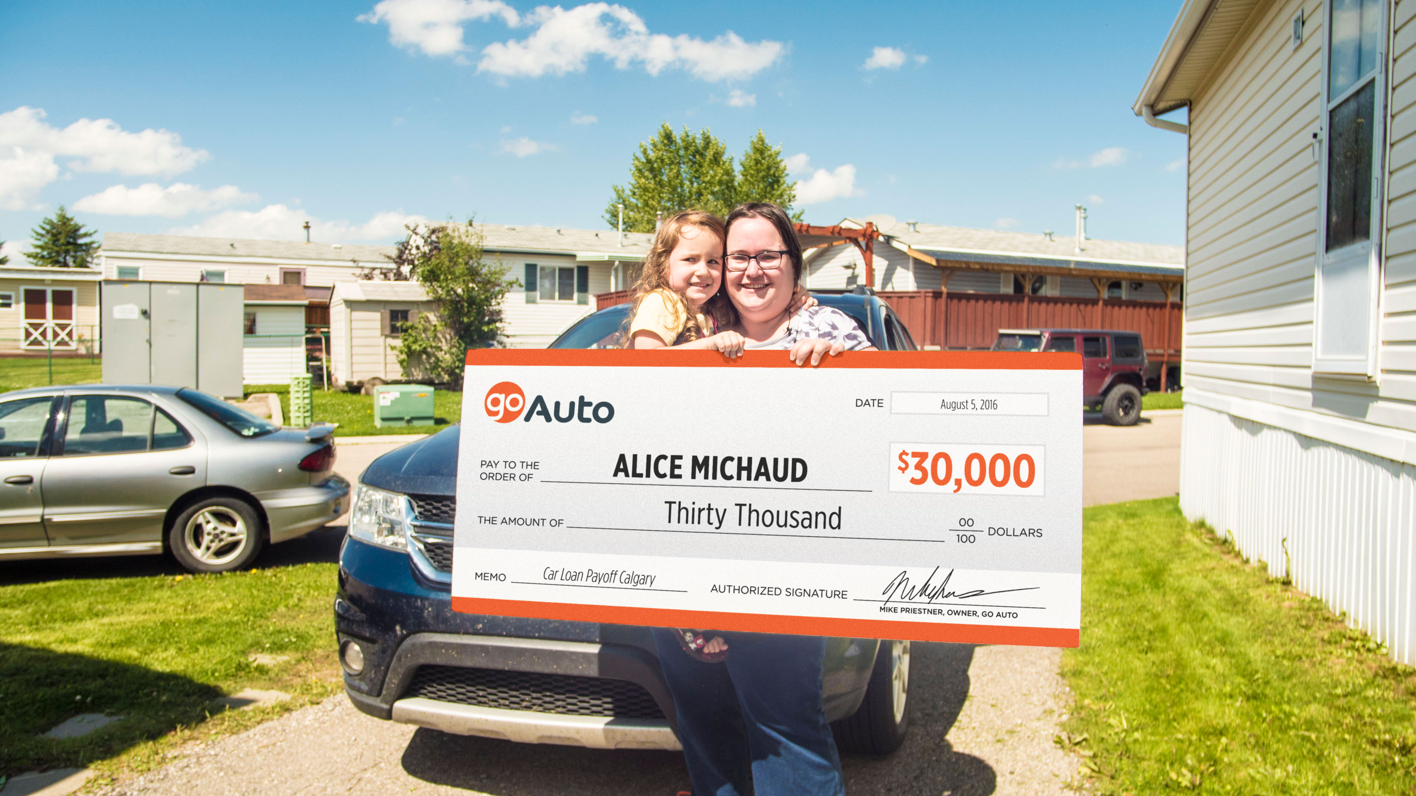 Calgary s Alice Michaud Wins $30 000 in Car Loan Payoff Contest