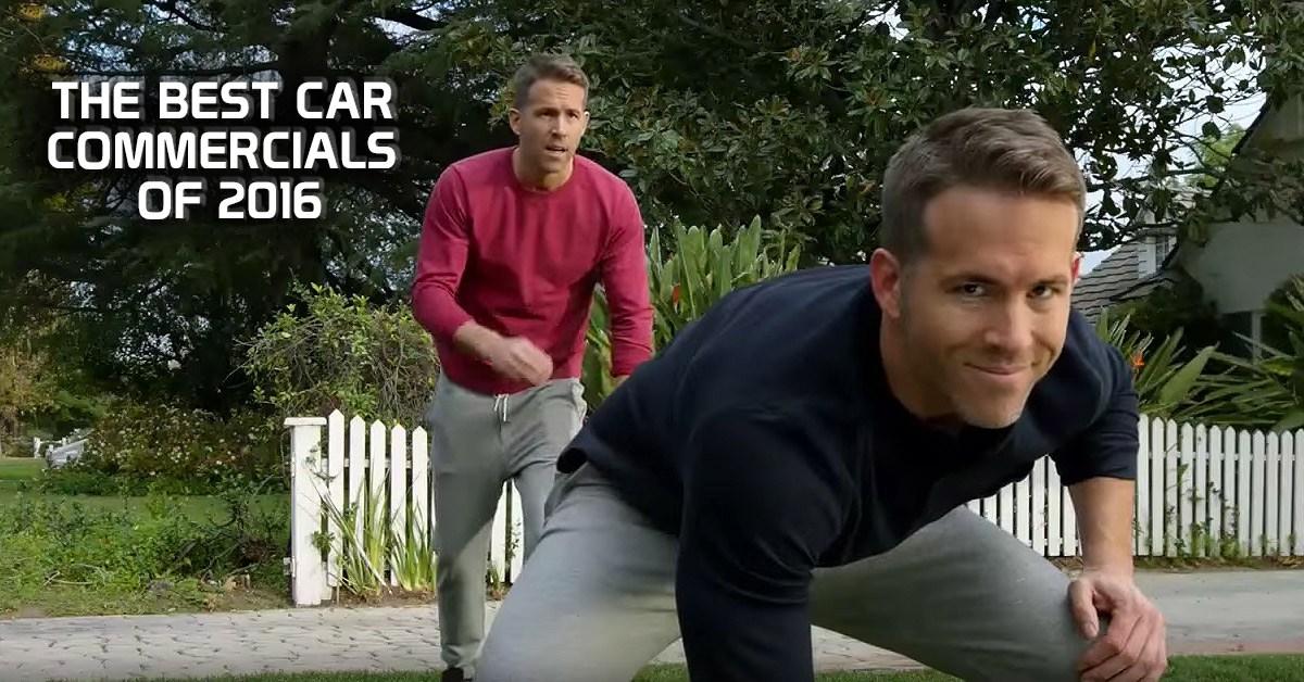 Funny Car Commercials: The Best Car Commercials Of 2016
