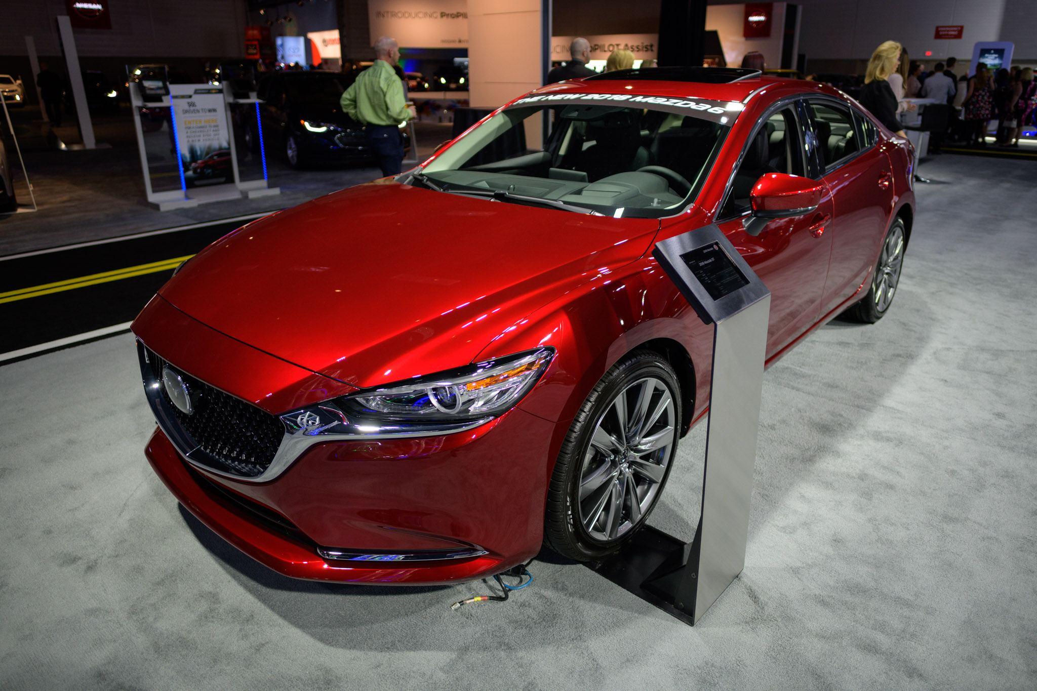 Edmonton Motorshow: The All-New 2018 Mazda6 | Car Reviews